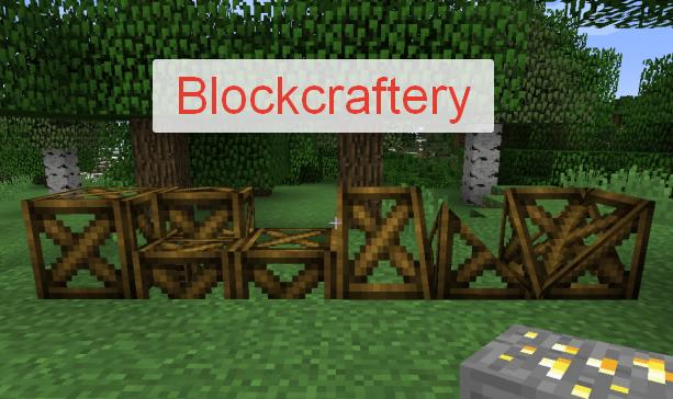Blockcraftery блоки необычной формы