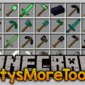 PattysMoreTools 2 инструменты и оружие из разных материалов