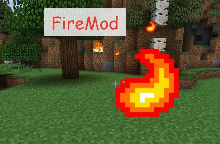 Fire Mod огненное оружие, броня и инструменты