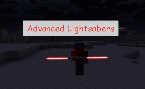 Advanced Lightsabers световой меч