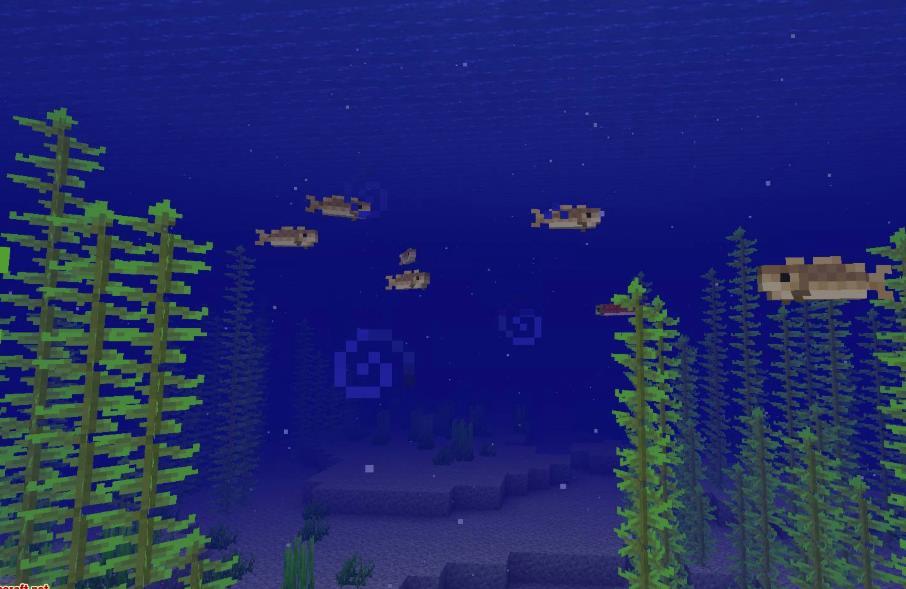 Upgrade Aquatic новые предметы и улучшения для водного мира