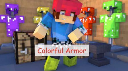Colorful Armor возможность раскрасить броню