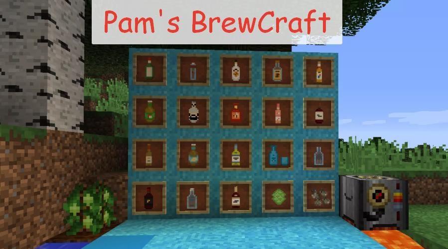 Pam's BrewCraft - алкогольные напитки