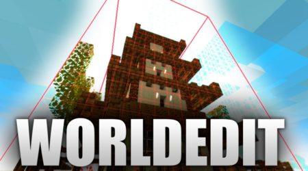 WorldEdit mod Singleplayer редактор мира для одиночной игры