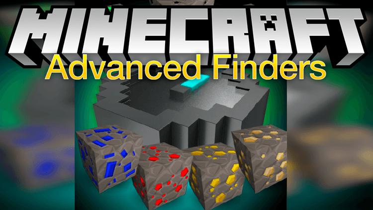 Advanced Finders компасы указывающие на ресурсы