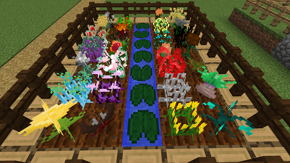 Unique Crops новые растения, семена и инструменты
