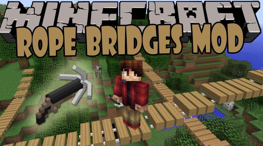 Rope Bridge подвесной мост одним выстрелом