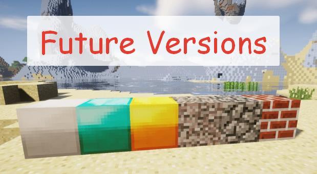 Future Versions декоративные блоки из новых версий
