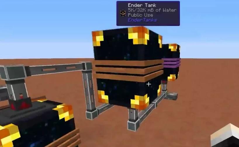 Ender Tanks связанные емкости для жидкости
