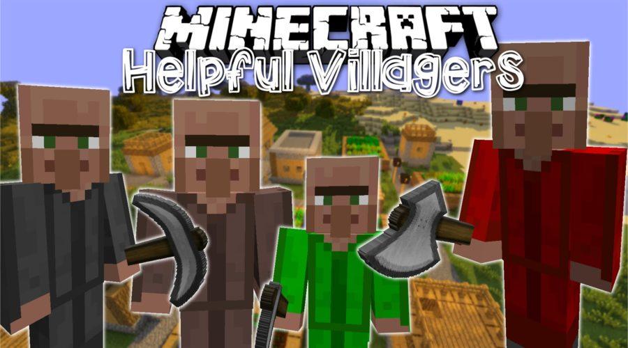 Helpful Villagers профессии для деревенских жителей