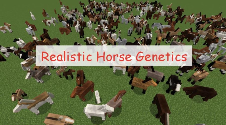 Realistic Horse Genetics генная инженерия и модификация лошадей
