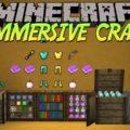 Immersive Craft реалистичный интерфейс для инструментов