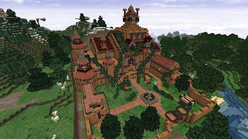 DungeonDQ новые постройки, подземелья, города и данжи