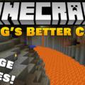 YUNG's Better Caves реалистичные пещеры и подземелья