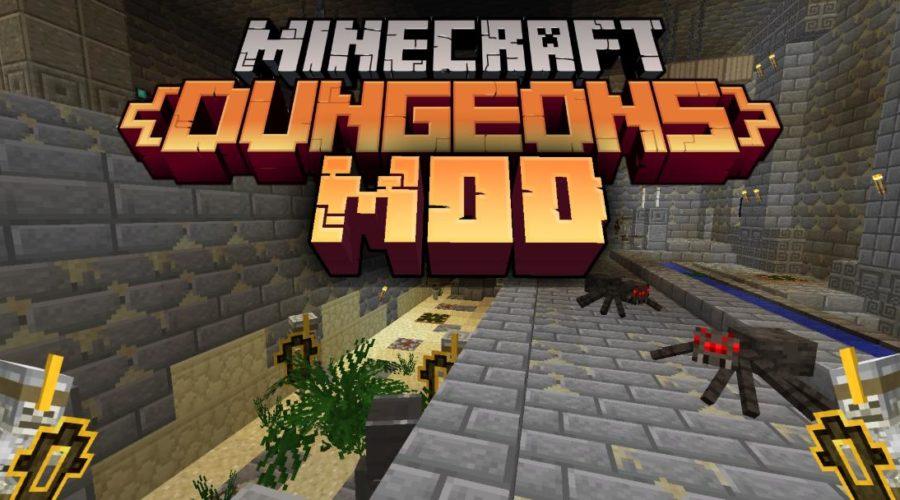 Minecraft dungeons мобы, данжи, оружие и другие плюшки