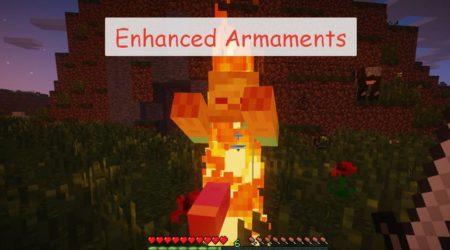 Enhanced Armaments прокачка оружия