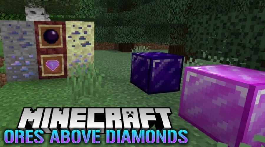 Ores Above Diamonds редкая но очень крутая руда