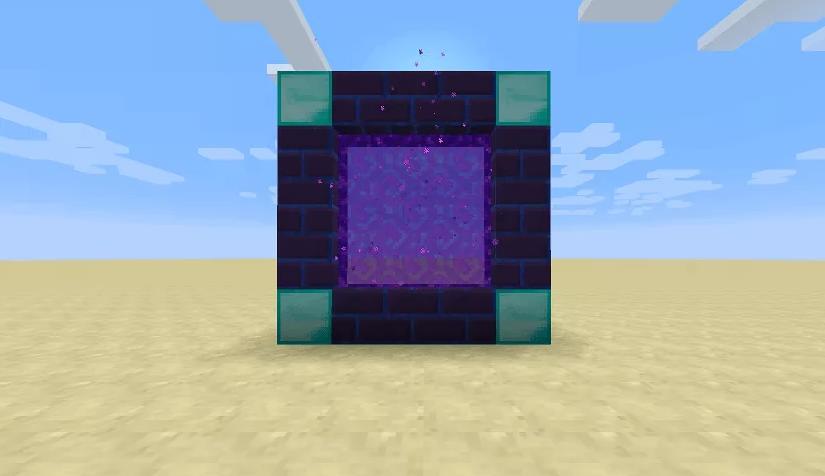 Simple Portals порталы для быстрого перемещения
