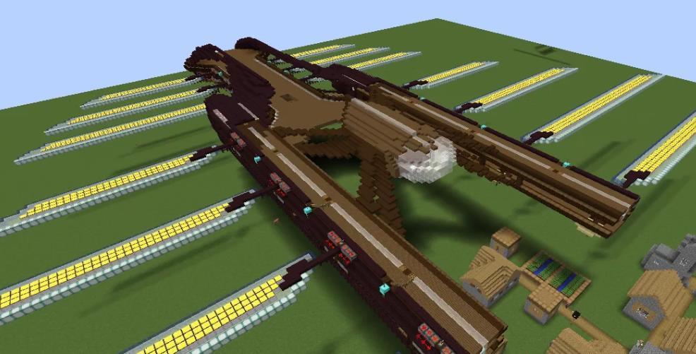 Valkyrien Skies (Warfare) строительство летающих кораблей