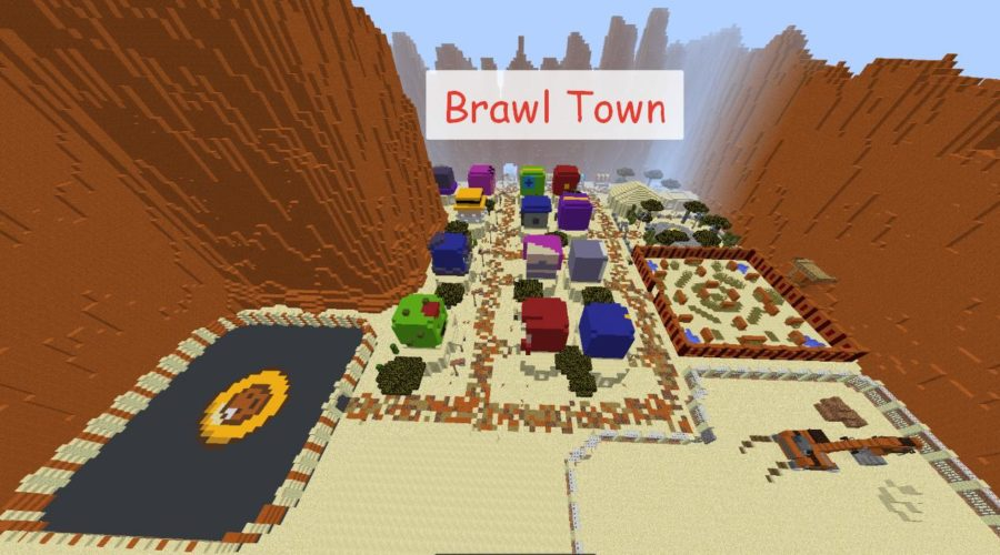 Brawl Town map карта Браво Старс