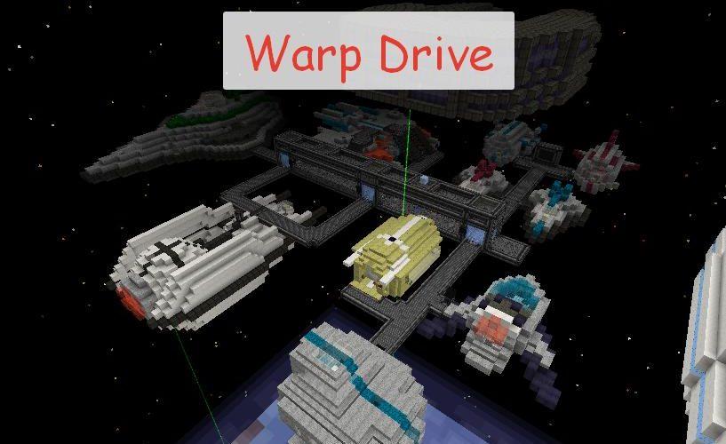Warp Drive космические корабли, технологии и космос