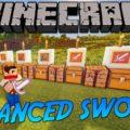 Advanced Swords мощные и красивые мечи и новые мобы