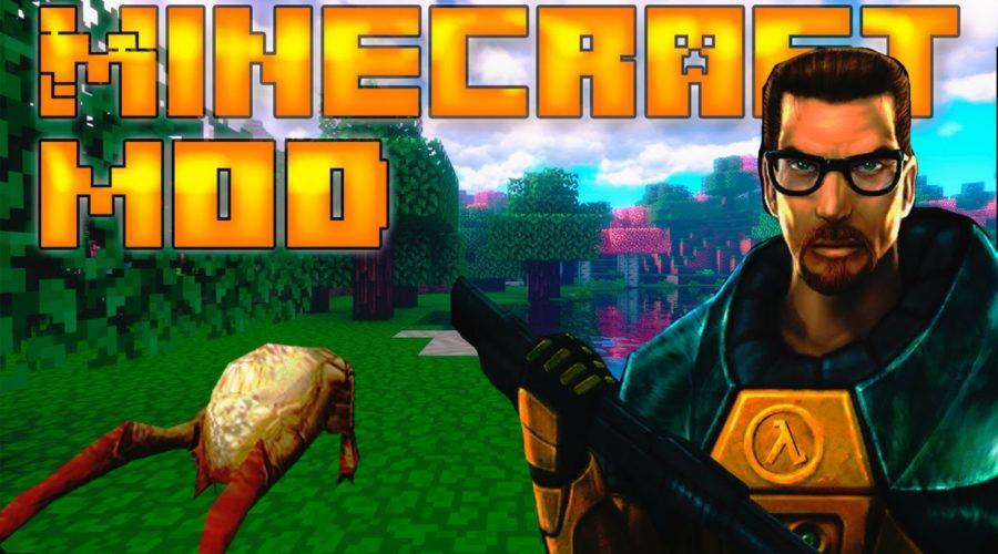 Project Lambda предметы, мобы и оружие из Half-Life