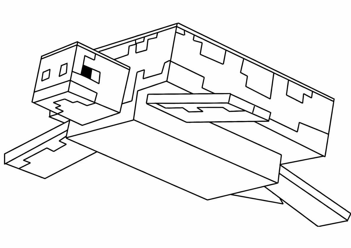 Майнкрафт раскраски распечатать бесплатно в формате А4