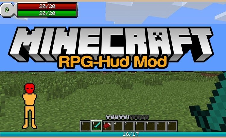 RPG HUD интерфейс в стиле РПГ