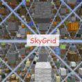 Skygrid еще более безумная чем SkyBlock