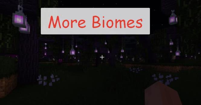 More Biomes мистические биомы