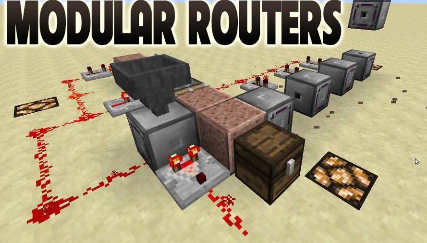 Modular Routers предметный маршрутизатор