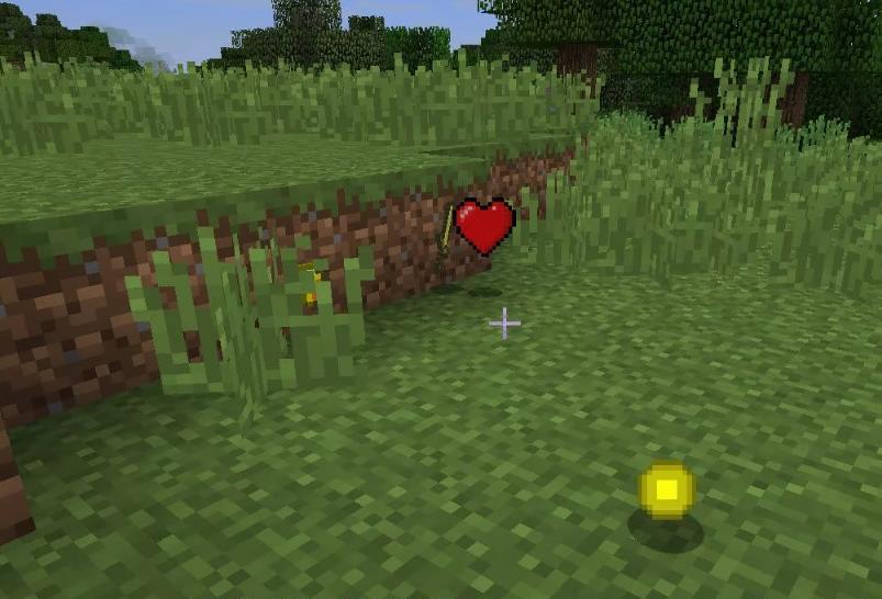 Heart Drops дроп сердец жизни из мобов