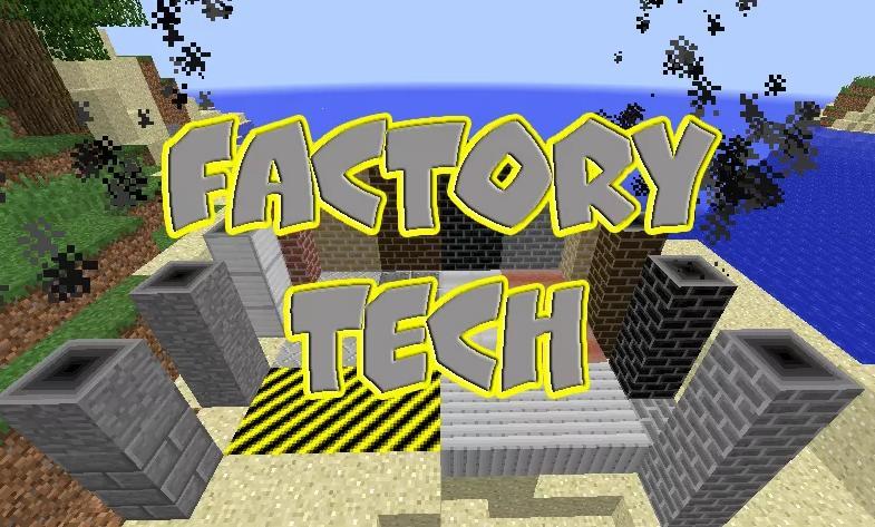 Factory Tech множество механизмов для автоматизации процессов