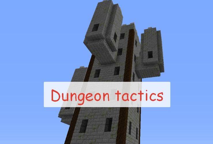 Dungeon Tactics новое оружие, данжи и инструменты