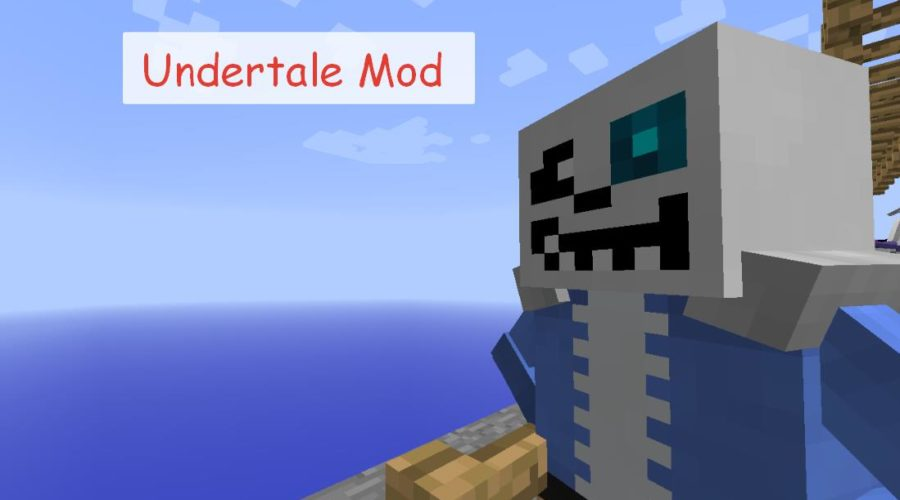 Undertale Mod мобы, блоки и предметы из Undertale