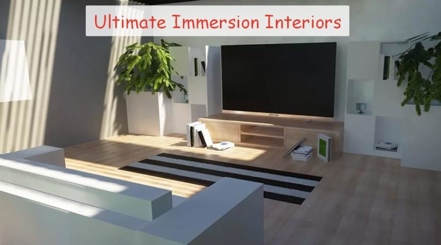 Ultimate Immersion Interiors 1.12.2 - 1.15 декоративные блоки для дома