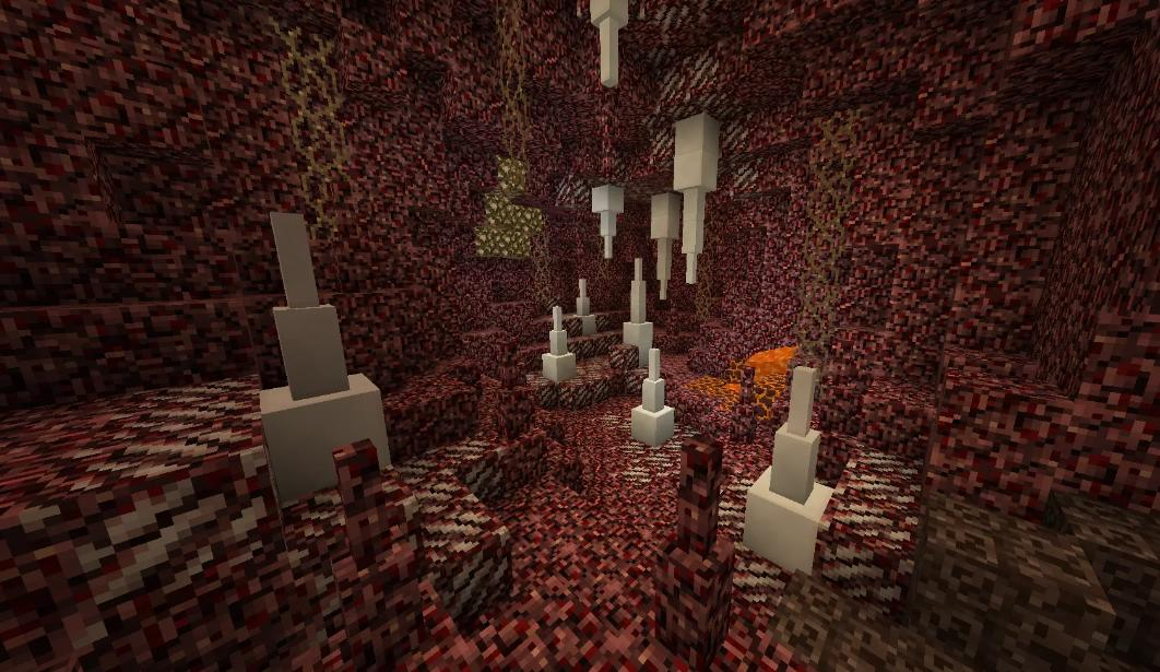 Cave Biomes Datapack улучшенные пещеры