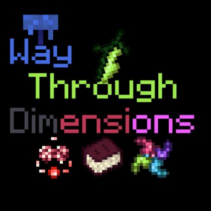 Way Through Dimension новые измерения, ресурсы и предметы