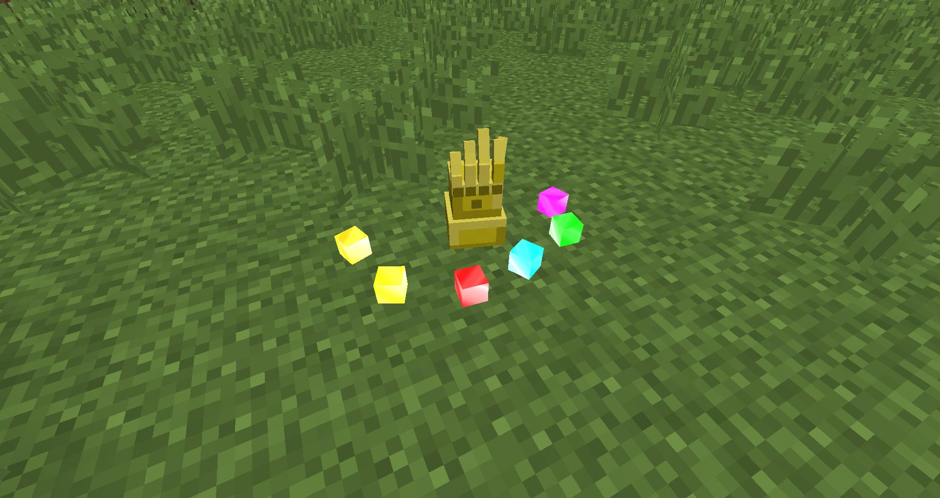 Anvil Infinity Craft перчатка и камни бесконечности