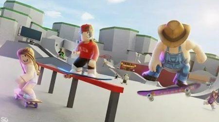 Скейт парк в Роблоксе