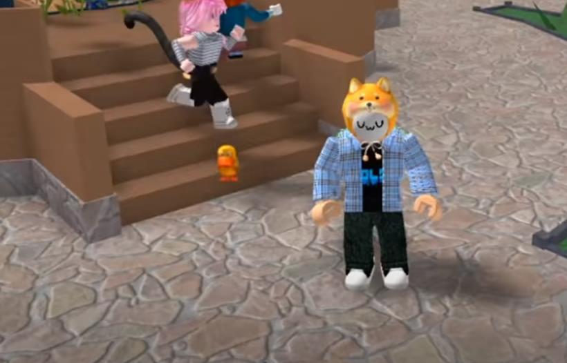 Йоши роблокс новые видео ютубера как он играет с Ланой