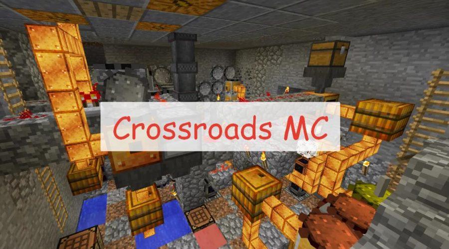 Crossroads MC индустриальный мод с множеством механизмов