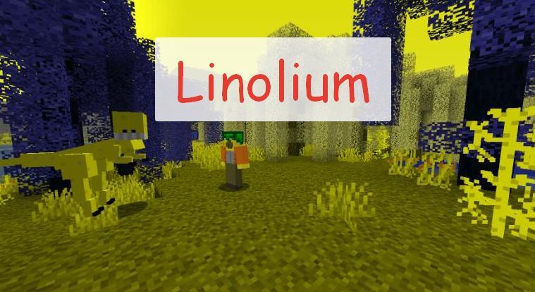 Linolium новые миры, мобы и предметы