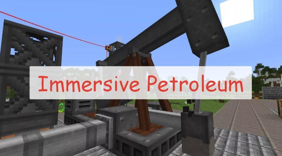 Immersive petroleum - топливо для Immersive Engineering