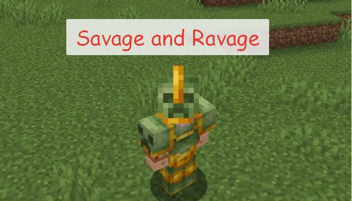 Savage and Ravage новая броня, мобы и структуры