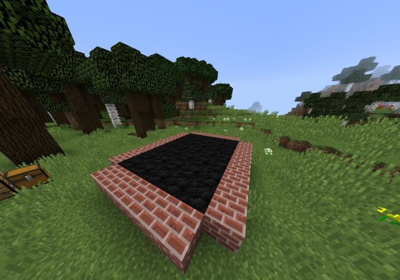 Charcoal Pit превращение древесины в уголь