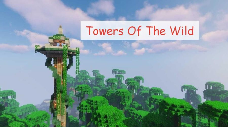 Towers Of The Wild высокие башни как в The Legend Of Zelda: Breath Of The Wild