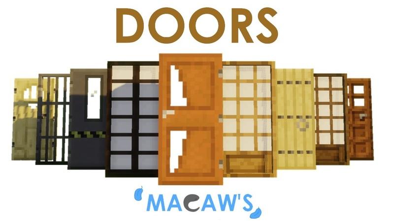 Macaw's Doors новые двери