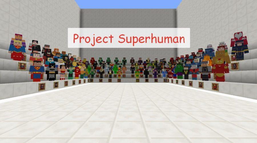 Project Superhuman мод на костюмы супергероев